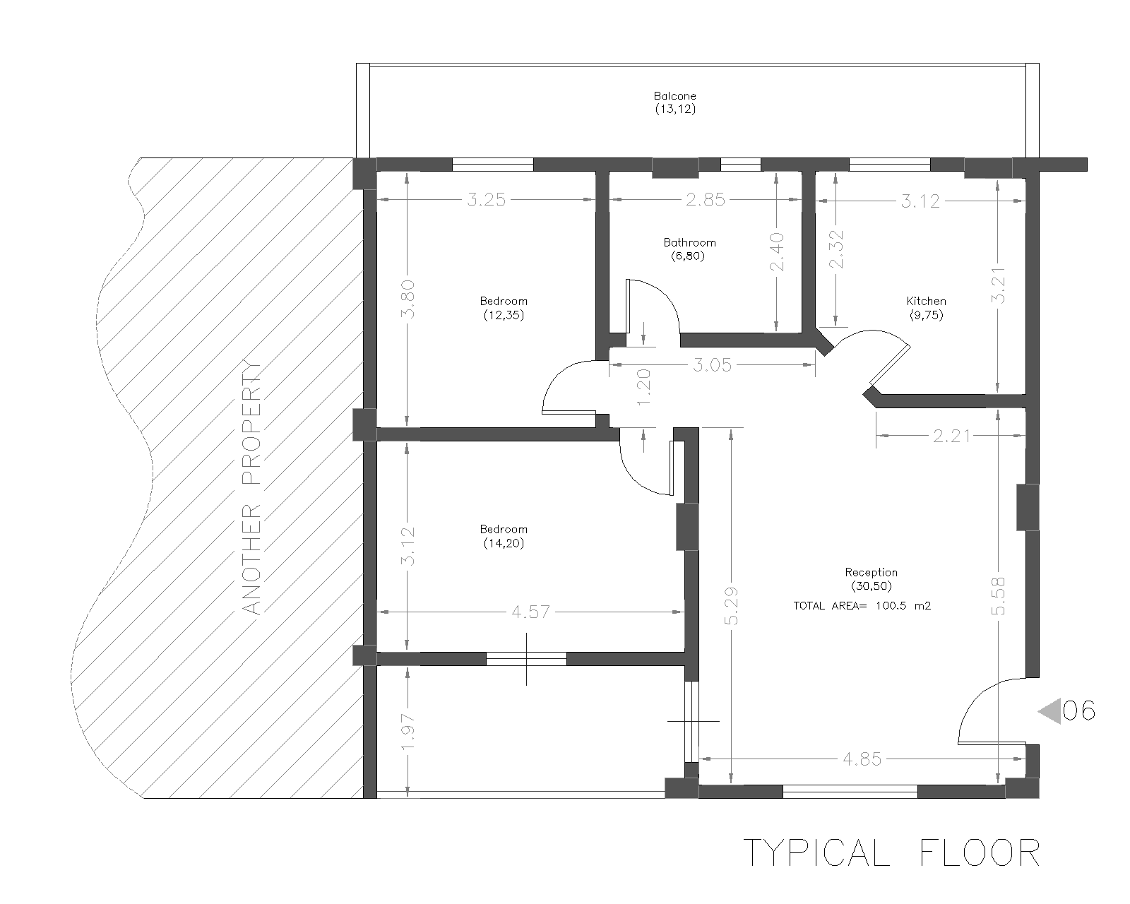 Floor Plan Bella Vista 14