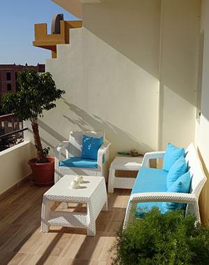 Hoasis Home balcony