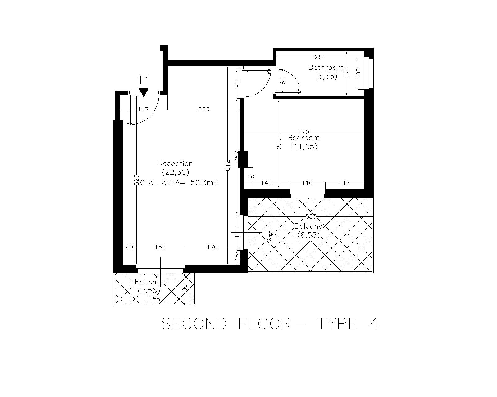 Floor Plan Hoasis 12