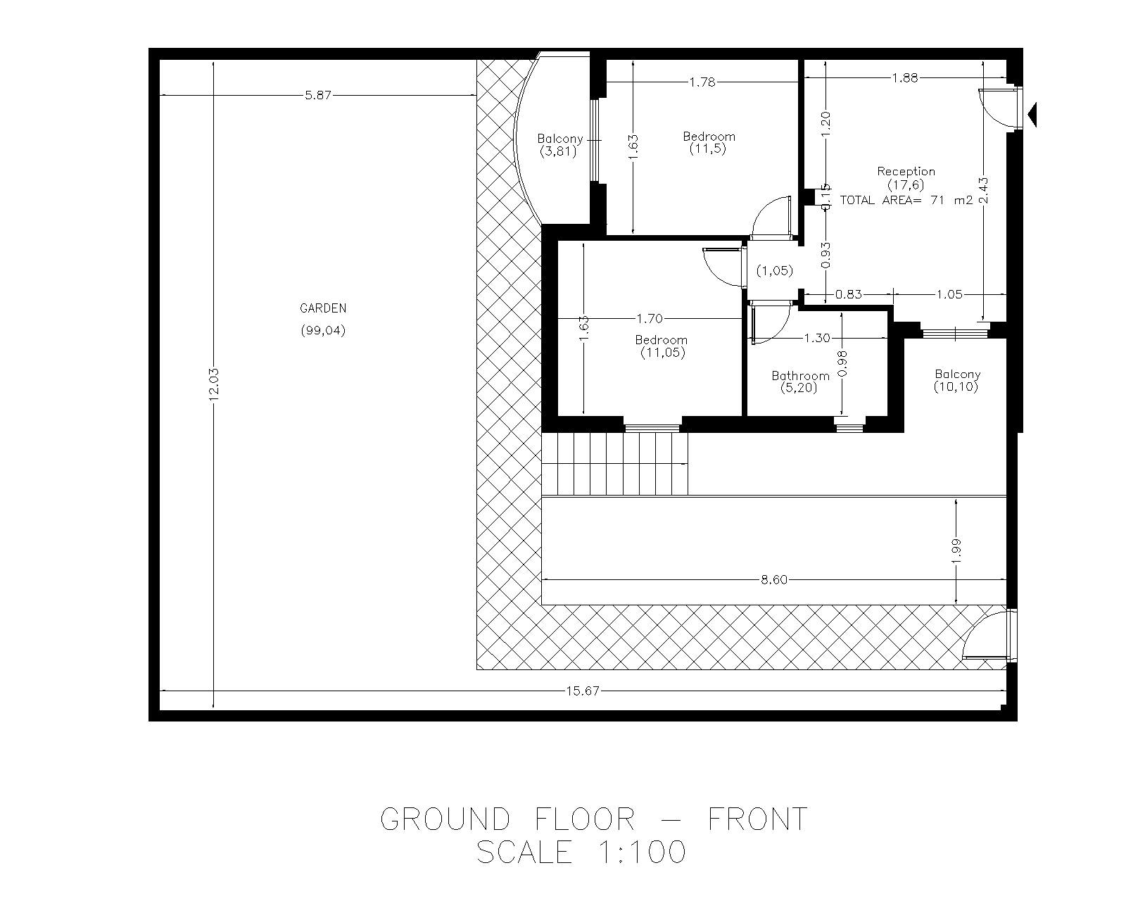 Floor Plan Daisy 1