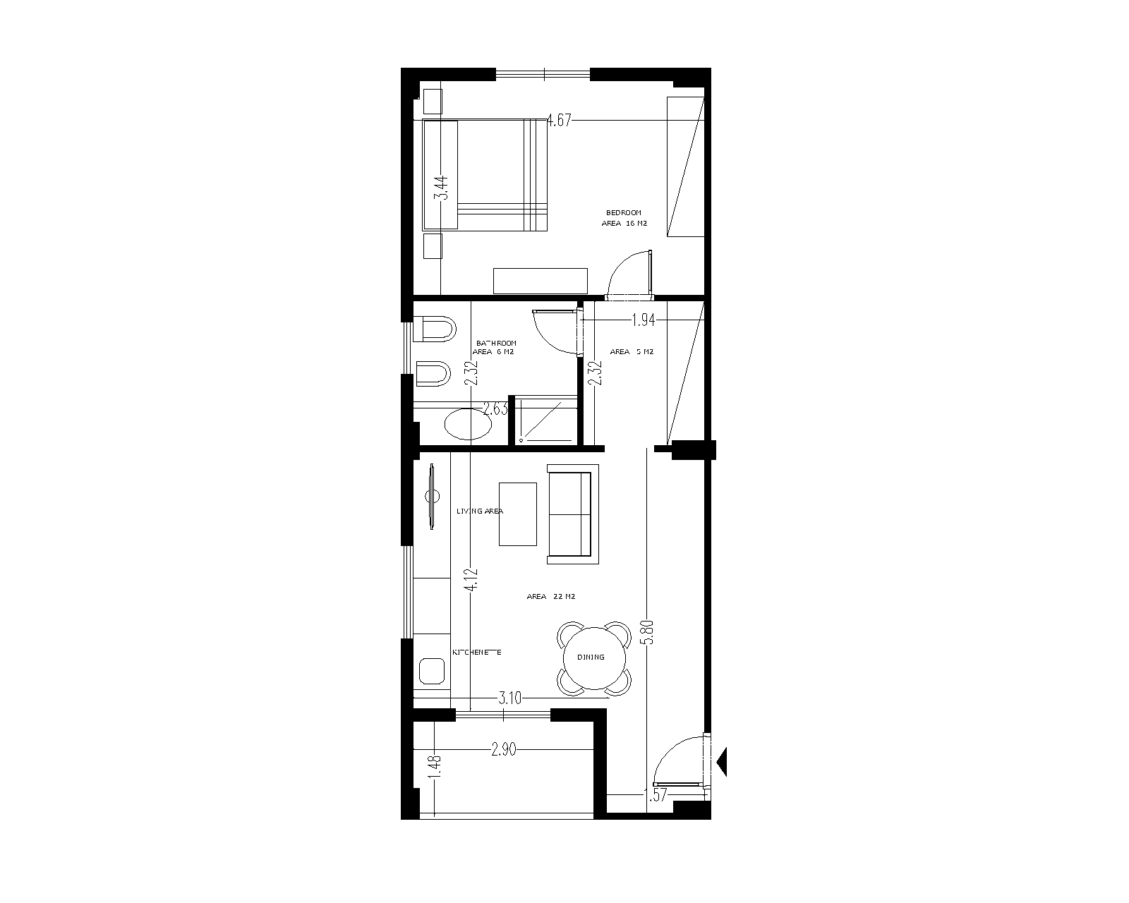 Floor Plan Violet S2